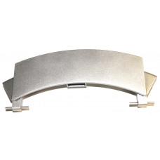 Ручка люка серебристая, стиральных  машин Bosch (Бош), Siemens (Сименс) DHL008BO, зам. 00659273, 659273