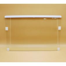 Стеклополка для холодильника Атлант с 1 штапиком (520*340мм) 371320307100 зам. 371320307200, 401320307100, 301110306200
