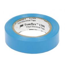 Изолента 3М Temflex 1300, ПВХ, 15 мм x 10 м, 130 мкм, синяя