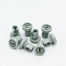 Комплект роликов посудомоечной машины Electrolux (Электролюкс), Zanussi (Занусси), AEG (АЕГ) 50286967000