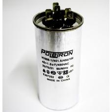 Конденсатор  40+1,5 мф 450V совмещенный. RF06B136