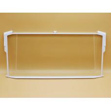 Стеклянная полка с обрамлением над отделением зоны свежести для холодильника Атлант 60x28.5см 769748502500