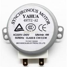 Мотор вращения тарелки СВЧ Gorenje 104213, 49TYZ-A2, зам. зам. G245389, G101360, (A172231, A602110)