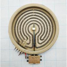 Конфорка пирокерамическая для стеклокерамических плит и поверхностей диаметр: 230мм Мощность: 2100w 230v  040058