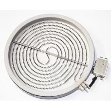 Конфорка для стеклокерамических плит Whirlpool (Вирпул), Indesit (Индезит), Ariston (Аристон) 2100W-230мм 481231018892, C00327341