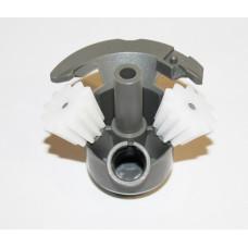 Редуктор мясорубки + 2 шестерни Bosch/Siemens 611988pl